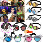 New Popular Steampunk Goggles ABS Plastic Frame+PC Lens Gothic Retro Cos Glasses