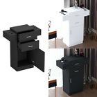 Barber Shop Locking Salon Storage Hair Station Cabinet Hair Dryer Holder Drawer