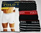 Polo Ralph Lauren 3 PACK Boxer Briefs BLACK Classic Reinvented Underwear  NWT