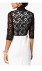 Connected Scalloped Lace Shrug- Petite Sizes