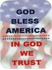 Patriotic 3* x 4* Refrigerator Magnets God Bless America 4* x 6* Signs/Plaques