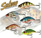 Salmo Fishing Lures Diving SPARKY SHAD 4cm Sinking All Colours Pike Perch Light