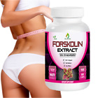 FORSKOLIN Weight Loss 100%PURE Coleus Forskohlii EXTRACT 2000mg Standardized 20%