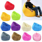 Kyпить US Adults Kids Large Bean Bag Chairs Sofa Cover Indoor Lazy Lounger Home Decor на еВаy.соm