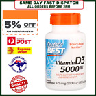 Doctor's Best Vitamin D3 5000 IU 180, 360, 540 Softgels - VALUE COMBO D-3  #126 $27.5 AUD on eBay