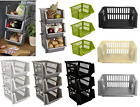 35cm Stacker Baskets Fruit,Vegetables,Pharmacy,Tools Tidy Storage Holder Caddy