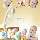 BE Baby Crib Bed Hanging Bell Wind-up Rotating Music Box Kids Develop Toys Gift