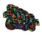 Cloth sanitary towels with gecko print pantyliner 8inch pad, 9 inch pad, 10 inch