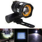 XANES ZL01 800LM T6 Bicycle Light Three Modes Zoomable Night Riding USB