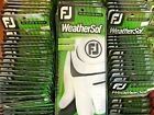 2020 Footjoy WeatherSoft golf gloves Box of 6 new gloves for right hand golfers