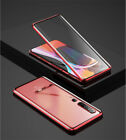 For Xiaomi Mi 10 Pro 9 9T 8 A2 A3 Lite Magnetic Double Tempered Glass Case Cover