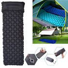 1Pcs Portable Outdoor Air inflate Camp Sleep Pad Mat Mattress For Travel 3 Color