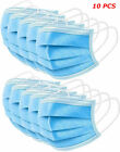 1-50PCS Protective Face Mask Roof Mouth Mask Respirator 3Layers Protection Stock