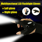 Flashlight Gloves LED Finger Light Night Rescue For Outdoor Fishing Tools Gear