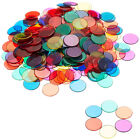 Infant Round Transparent Counters Counting Bingo Chips Plastic Marker Toys MP