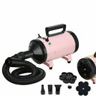 2800W Pet Dog Cat Grooming Hair Dryer Heater Hairdryer Low Noise With 3 Nozzles