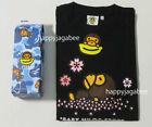A BATHING APE BABY MILO STORE SAKURA COLLECTION L/S TEE From Japan New