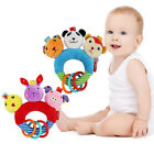 Baby Hand Plush Rattles Bell Toys Soft Toy Grasp Ball Cloth Animal Rattle Toy MP