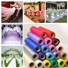 Roll Of Organza Soft Tulle Sheer Fabric Wedding Table Runner Chair Bow Decor Mp