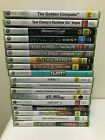 XBOX 360 Games : Select Your Titles - Microsoft Xbox 360 - Combined Post