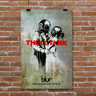 Banksy Graffiti Think Tank Blur Band Music Album CD Poster Giclee' Art Print