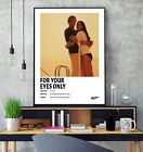 James Bond For Your Eyes Only (1981) Minimalist Movie Gloss Poster Print HD A3 £7.5 GBP on eBay