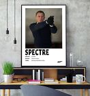 James Bond Spectre (2015) Minimalist Movie Film Gloss Poster Print HD A3 A4 Art £11.5 GBP on eBay