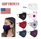 Kyпить Adult PM2.5 Cotton Respirator Mask Mouth Cover 12 Colors Avai.+2 Carbon Filters  на еВаy.соm