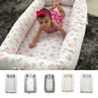 35'' Baby Nest Bed Floral Baby Lounger Co-Sleeping Newborn/ Infant Bassinet Crib