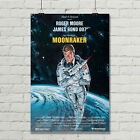 James Bond 007 Moonraker Movie Poster Roger Moore Giclee' Art Print $12.95 USD on eBay