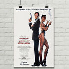 James Bond 007 A View to a Kill Movie Poster Roger Moore Giclee' Art Print $12.95 USD on eBay