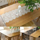 Vintage Lace Table Runner Floral Tablecloth Home Wedding Proposal Party Decor