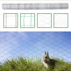 Galvanised Wire Netting Mesh Outdoor Chicken Net Fence Rabbit Aviary Pet Poultry
