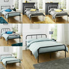 Kyпить Twin Size Metal Platform Bed Frame Mattress Foundation Steel Headboard Bedroom на еВаy.соm