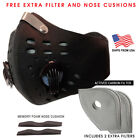 Activated Carbon Face Mask Shield with filter Cycling Outdoor Ships From USA <br/> Multiple Colors Available Same Day Shipping