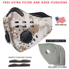 Activated Carbon Face Mask Shield with filter Cycling Outdoor Ships From USA