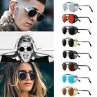 Retro Steampunk Sunglasses Style Inspired Round Metal Circle Side Shield Goggles