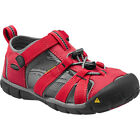 Keen Seacamp Ii Cnx Kids Footwear Sandals - Racing Red Gargoyle All Sizes
