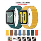 For Apple Watch Leather Loop Band Strap Magnetic for iWatch Series 5 4 3 2 1 image