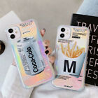 Coke Fries Phone Back Case Cover For iPhone 11 Pro Max XR XS Max $5.98  on eBay