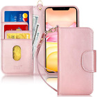 iPhone 11 Pro Max Wallet Case Protective Cover Shockproof Heavy Duty Kickstand