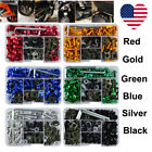 US CNC Motorcycle Motorbike Fairing Windscreen Bolts Kit Fastener Clips Screws $21.99 USD on eBay