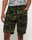 Superdry Mens Rookie Edition Parachute Cargo Shorts