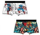 Men's Trunk Official Character Spiderman Boxer Shorts 2 In Pack Cotton Size S-XL