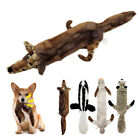 Dog Toys Squeakers for Aggressive Chewers Interactive Unstuffed Plush Pet Toys