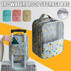 Waterproof Storage Bag Travel Shoe Bag with Luggage Sleeve Holds 3 Pair of Shoes