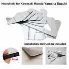 PreCut Fairing Heatshield Insulation Mats for Triumph Daytona 675 848 1098 1198 $29.99 USD on eBay