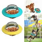 Dog Cat Feeder Toys Food Dispenser Treat Flying Disc Toy Interactive IQ Training