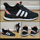 🔥 Adidas U Path Run White Black Coral FW7566 Sneakers Mens Size 9.5 and 10