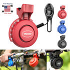 Waterproof Cycling Electric Bicycle Horn Bike Handlebar Ring Bell Alarm 120db US